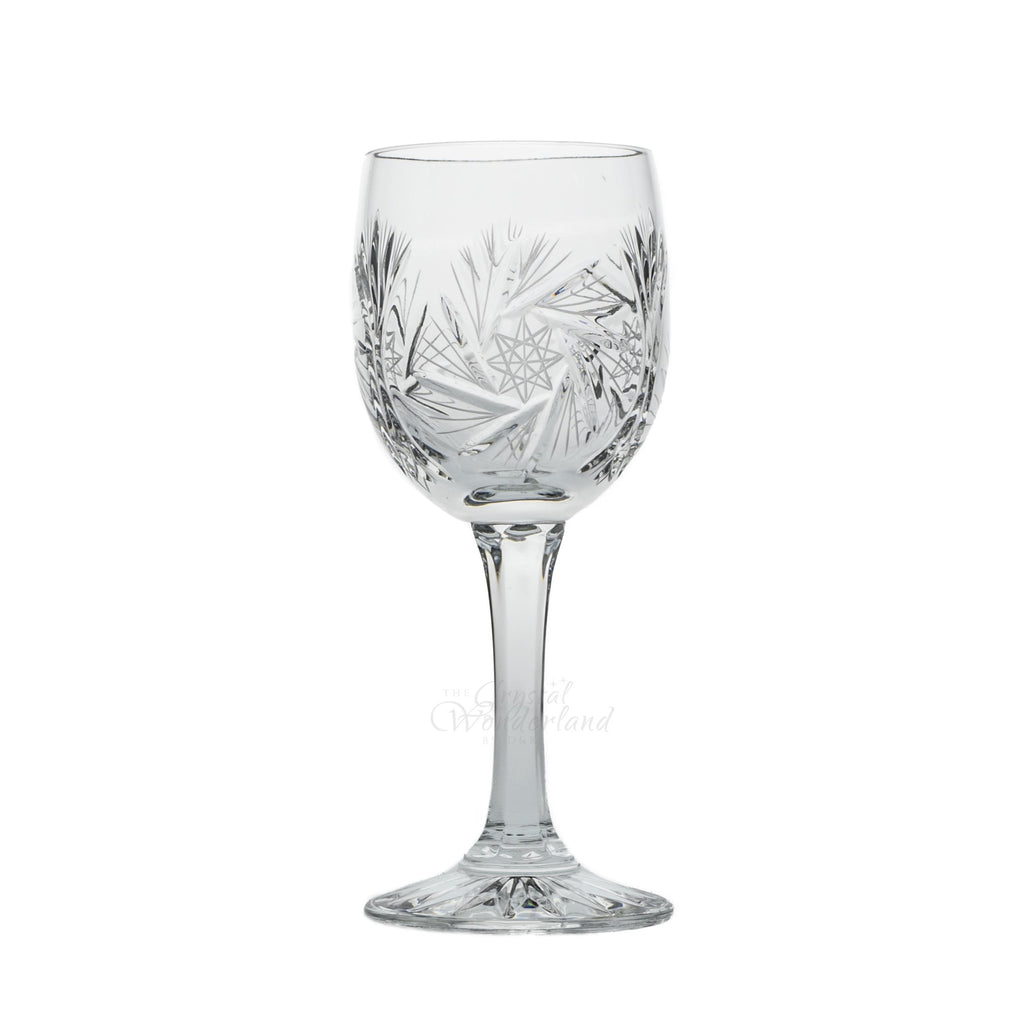 Starlet Crystal Wine Goblets, Set of 6 - The Crystal Wonderland 2