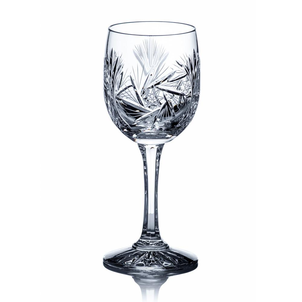 Wine Glasses - Starlet Crystal Wine Goblets, Set Of 6