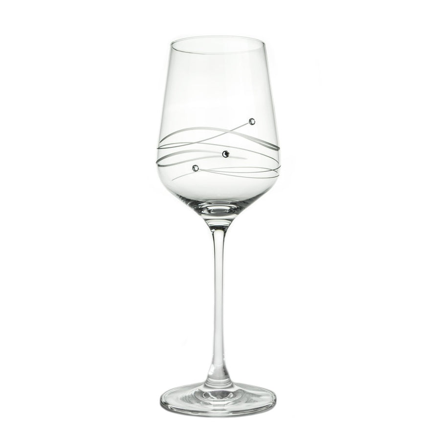 Wine Glasses - Swarovski Wine Glass, Single Gift Box