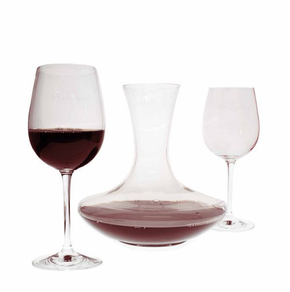 Wine Sets - Olivia Wine Carafe & Two Wine Glasses Set