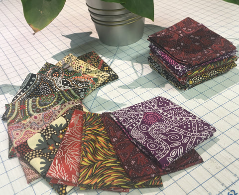 12 fat quarter pack