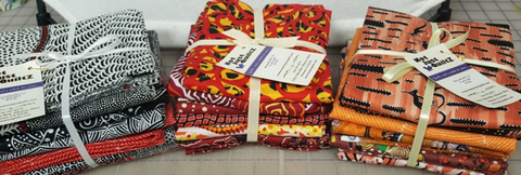 4 Half Yard Fabric  Packs