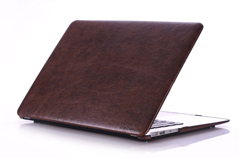 low priced 7129d fedec Macbook Air Case 13-inch Faux Leather (2017 and Older)