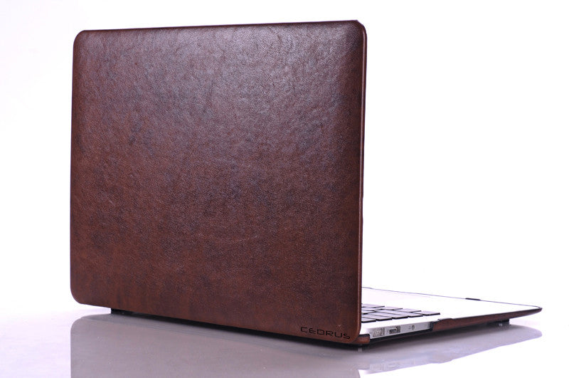 free shipping 9d2d8 63ffe Macbook Pro Retina Case 15-inch Faux Leather - 2015 models & older
