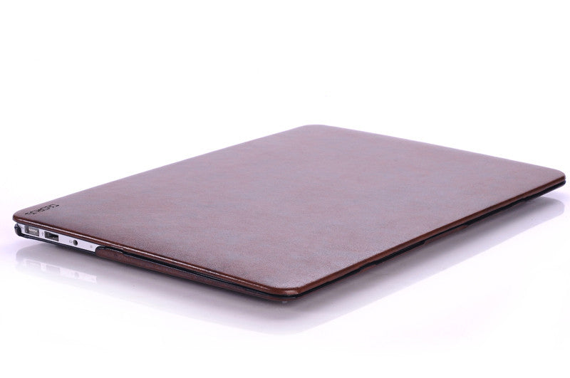 low priced f87bd 29a27 Macbook Air Case 13-inch Faux Leather (2017 and Older)