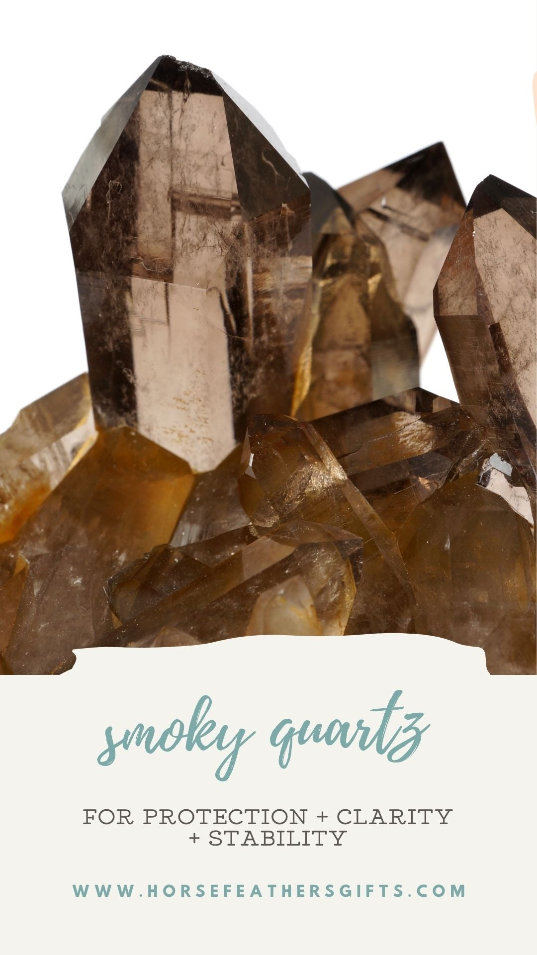 smoky quartz stone meaning and properties
