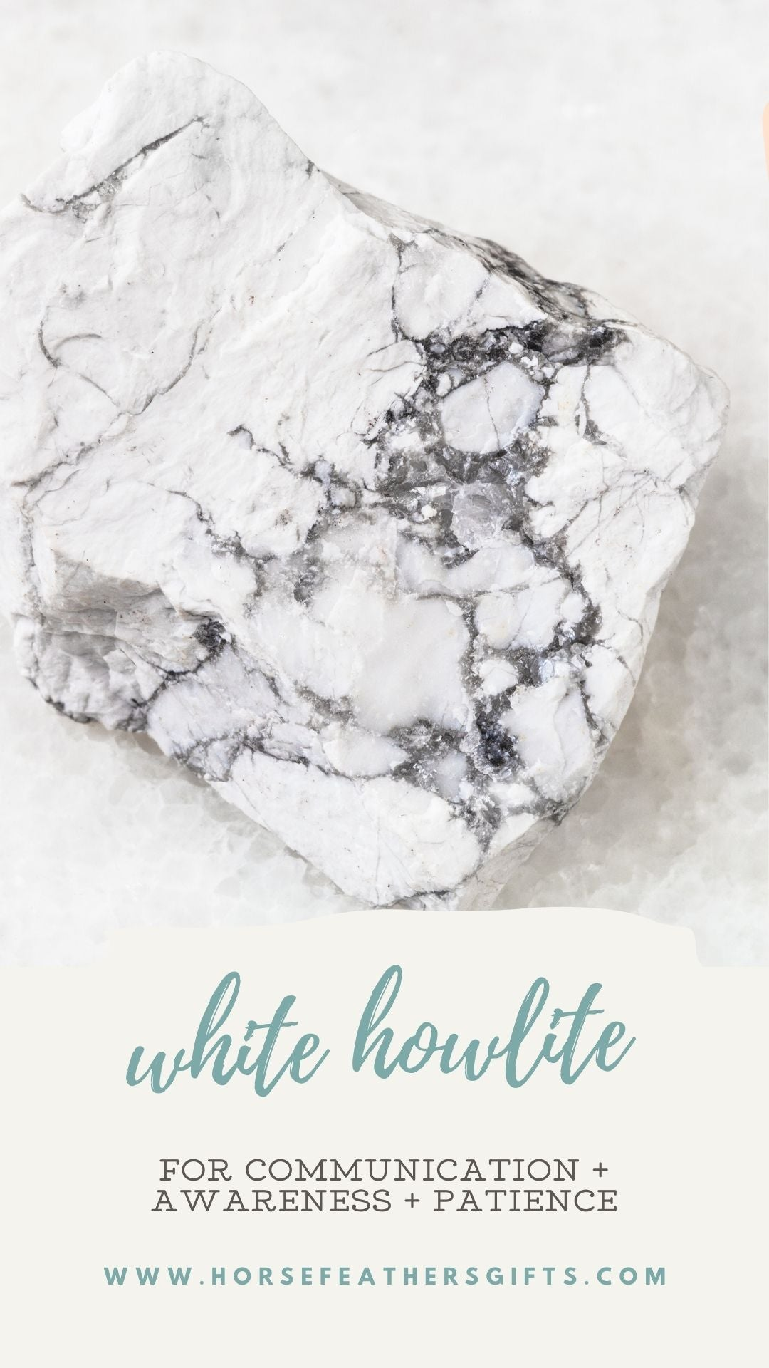 white howlite meaning and properties