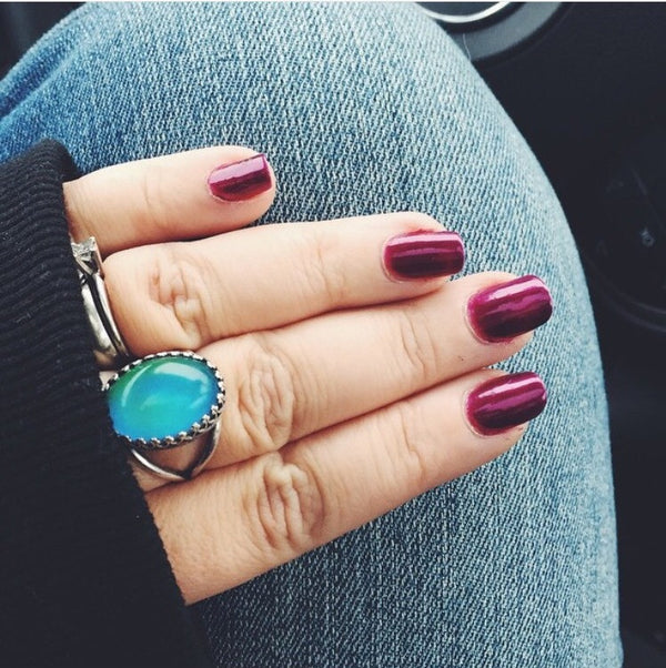 color changing mood ring by horsefeathers