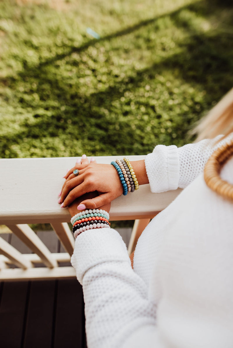 Signature Stackers | Czech Glass Layering Bracelet