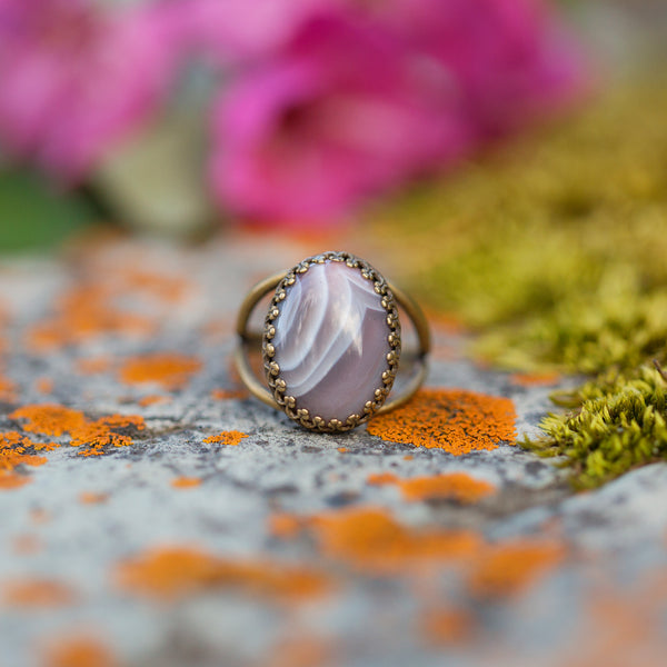 Botswana Agate | Gemstone Statement Ring