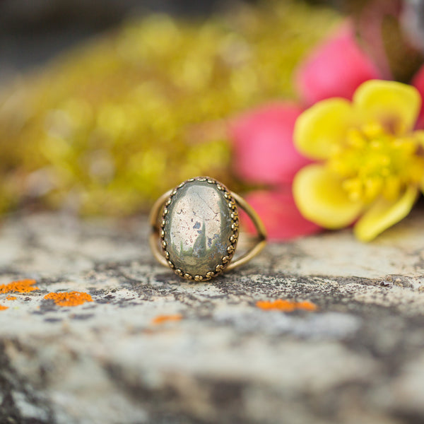 Pyrite | Gemstone Statement Ring