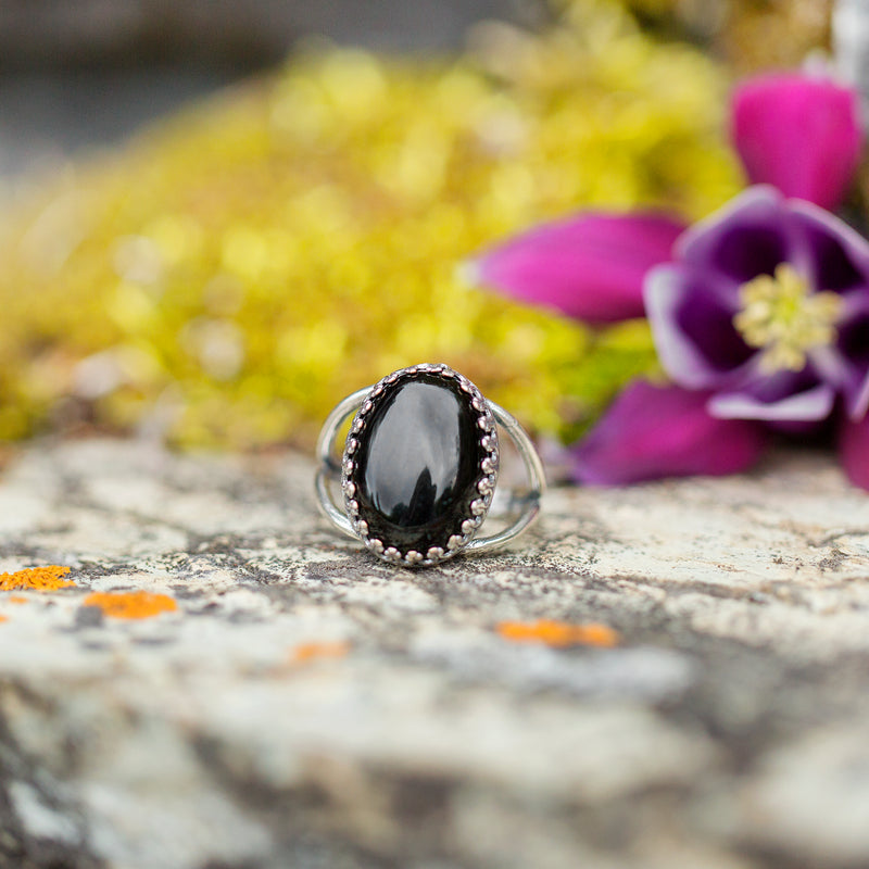 Black Onyx | Gemstone Statement Ring
