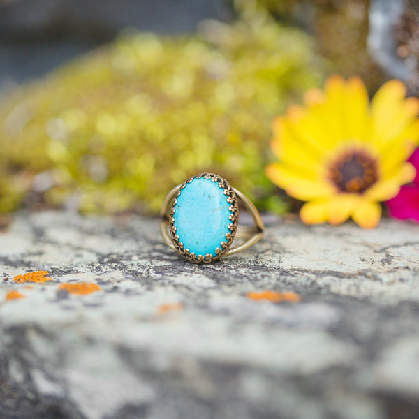 Turquoise | Gemstone Statement Ring