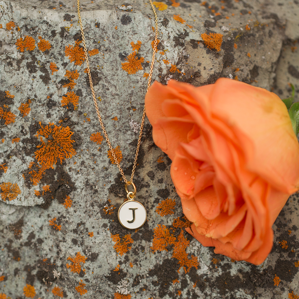 Noted | Tiny Initial Necklace