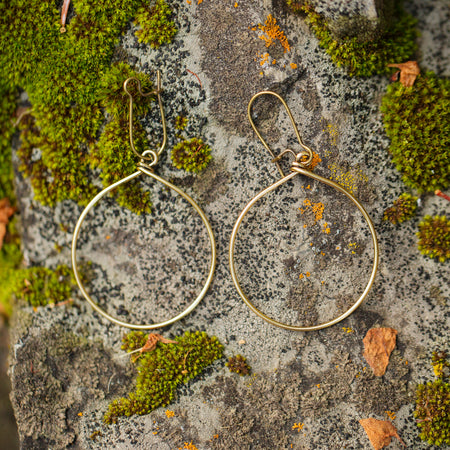 City Lights | Brown Tortoise Earrings