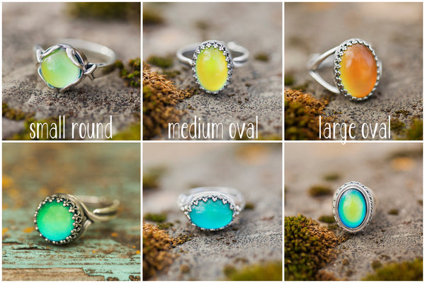Mood Ring Stone Replacement