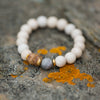Natural Beauty | Druzy + Riverstone Bracelet