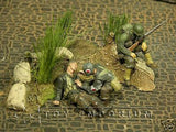 """RETIRED & BRAND NEW"" Build-a-Rama 1:32 Hand Painted WWII High Grass Terrain Set"
