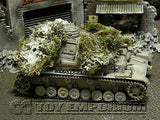 """RETIRED& BRAND NEW"" Build-a-Rama 1:32 Hand Painted Deluxe ""Winter"" Ambush Foliage Set"