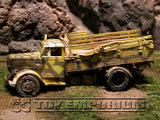 """VERY RARE""  Forces Of Valor 1:32 Scale Custom ""Battle Damaged"" WWII German 3 Ton Truck"