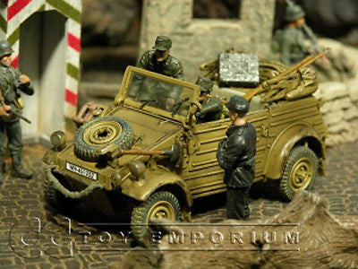 """RETIRED"" Forces Of Valor 1:32 Scale WWII German Kubelwagen Type 82 - Normandy 1944"