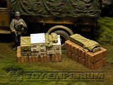 """RETIRED & BRAND NEW"" Build-a-Rama 1:32 WWII Deluxe Supply Stowage Set #2  (2 Piece Set)"