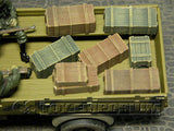"""RETIRED & BRAND NEW"" Build-a-Rama 1:32 WWII Deluxe Small Crate Set #2  (7 Piece Set)"