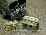 """RETIRED & BRAND NEW"" Build-a-Rama 1:32 WWII Deluxe Supply Stowage Set #3  (2 Piece Set)"