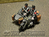 """RETIRED"" King & Country 1:30 Scale ""Berlin 38' Series"" Deluxe SS Motor Cycle Set"
