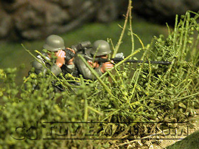 """RETIRED & BRAND NEW"" Build-a-Rama 1:32 Hand Painted WWII Wild Shrub Terrain"