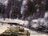 """RETIRED"" Build-a-Rama 1:32 Deluxe WWII Color Winter Back Drop"