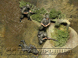 """BRAND NEW"" Custom Built - Hand Painted & Weathered 1:35 WWII German Infantry ""Barbarossa 1941"" Soldier Set (4 Figure Set)"