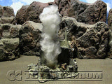 """RETIRED & BRAND NEW"" Build-a-Rama 1:32 Hand Painted WWII Deluxe 3-D Smoke (Large)"