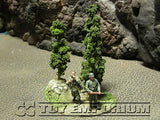 """RETIRED & BRAND NEW"" Build-a-Rama 1:32 Hand Painted WWII ""Green"" Tree Group"