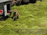 """BRAND NEW"" Build-a-Rama 1:32 WWII Deluxe ""Pasture"" Battlefield Table Mat  (24""x12"")"