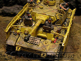 """BRAND NEW"" Custom Built - Hand Painted & Weathered 1:35 WWII German ""SS Panzer Crew "" Set (5 Figure Set)"