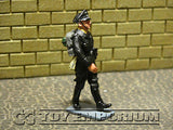 """RETIRED"" King & Country 1:30 ""Berlin 38 Series"" Deluxe SS LAH Officer Marching"