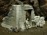 """RETIRED & BRAND NEW"" Build-a-Rama 1:32 Hand Painted WWII ""Winter""  Government Ruin"