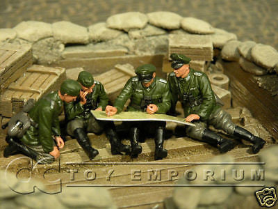 """BRAND NEW"" Custom Built & Hand Painted 1:35 WWII German Last Consultation Set (4 Figure Set)"