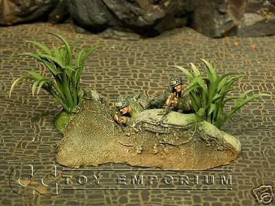 """RETIRED & BRAND NEW"" Build-a-Rama 1:32 Resin Hand Painted Jungle Terrain Set"