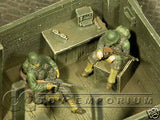 """RETIRED & BRAND NEW"" Build-a-Rama 1:32 Hand Painted WWII Guard Station Ruin"