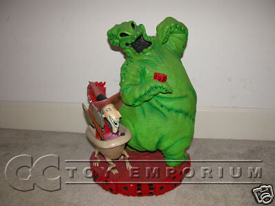 """SOLD OUT"" 10th Ann Nightmare Before Christmas Oogie w/ Lock, Shock & Barrel LARGE Figure"