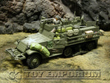 """RETIRED"" Forces Of Valor  -  US  M3A1 Half Track  Normandy, 1944"