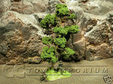 """RETIRED & BRAND NEW"" Build-a-Rama 1:32 Hand Painted WWII Deluxe Large ""GREEN"" Tree"