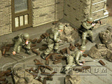"""BRAND NEW"" Custom Built & Hand Painted 1:35 WWII German ""Monte Cassino"" Fallschirmjager Soldier Set (4 Figure Set)"