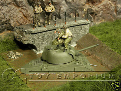"""RETIRED"" Pro Built - Hand Painted & Weathered Verlinden 1:35 Custom Built Deluxe WWII ""Stuck"" Diorama"