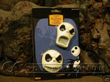 Very RARE & SOLD OUT Nightmare Before Christmas Jack Heads Magnet Set (2) MINT On Card