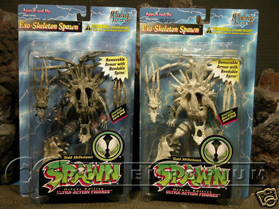 VERY RARE Mcfarlane Exo-Skeleton  + Variant Figure  MIB