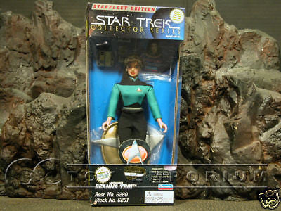 "VERY RARE Star Trek Starfleet Edition ""Deanna Troi""  MIB"