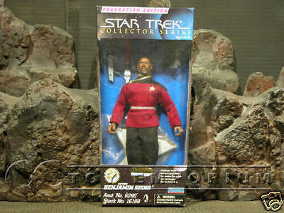 VERY RARE Star Trek Federation Edition Captain Sisko MIB